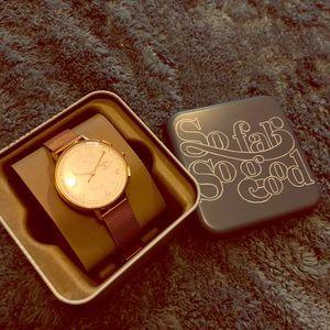 FOSSIL Rose Hybrid Watch